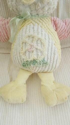 Chenille Plush Stuffed Toy Pink Wings