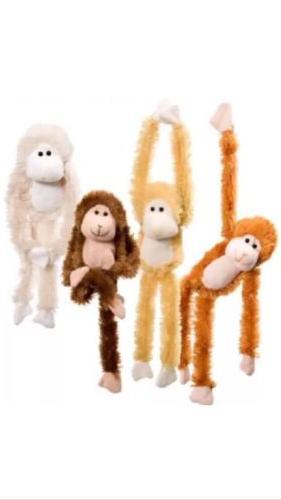 STUFFED ANIMAL monkeys HANDS toy new