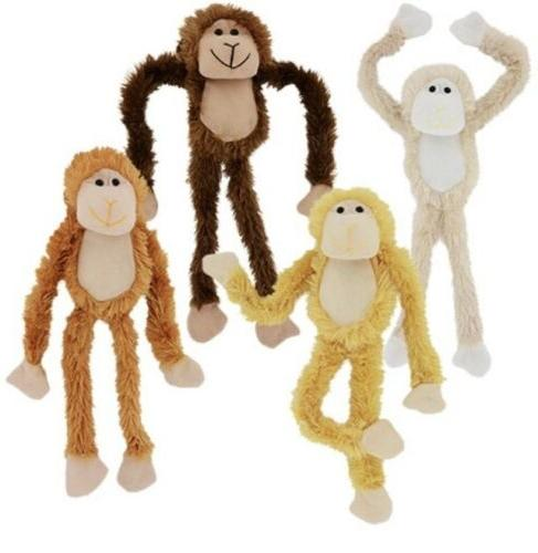 plush hanging monkey stuffed animal