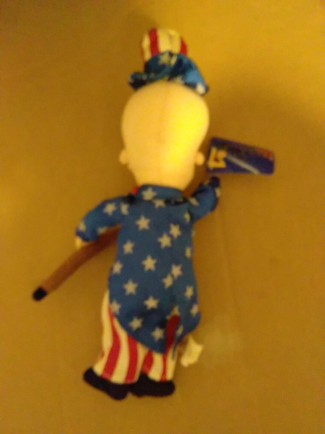 Plush Mr. Magoo 4th July Doll From 2002
