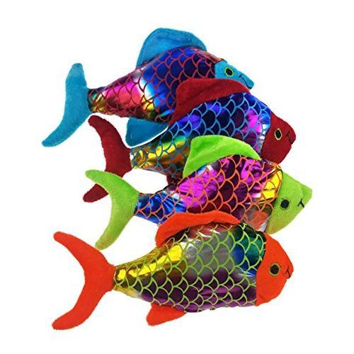 "Small Plush Shiny Fish ""Value"