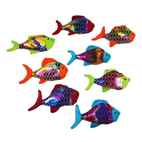 plush shiny fish toy