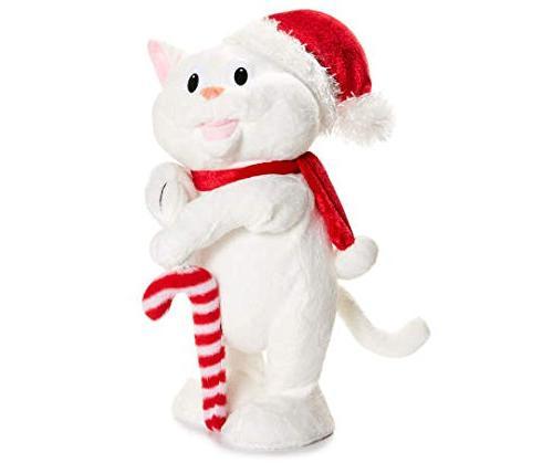plush stuffed animal dancing cat