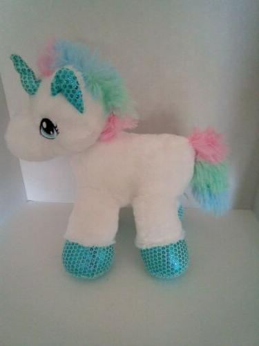 Plush Unicorn, Stuffed Animal Toy, Soft for