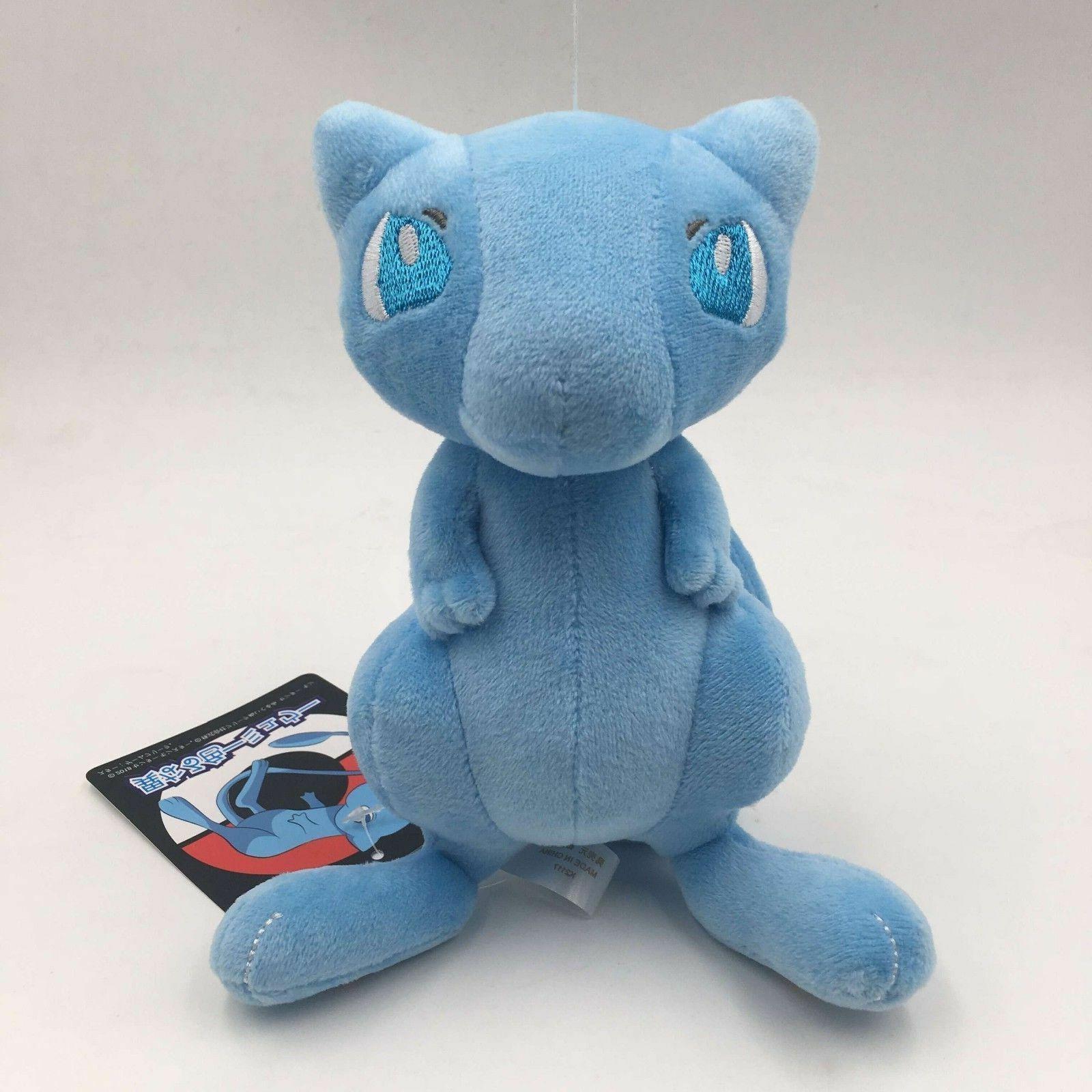 Pokemon Center Blue Mew Plush Doll Stuffed Animal Figure Toy