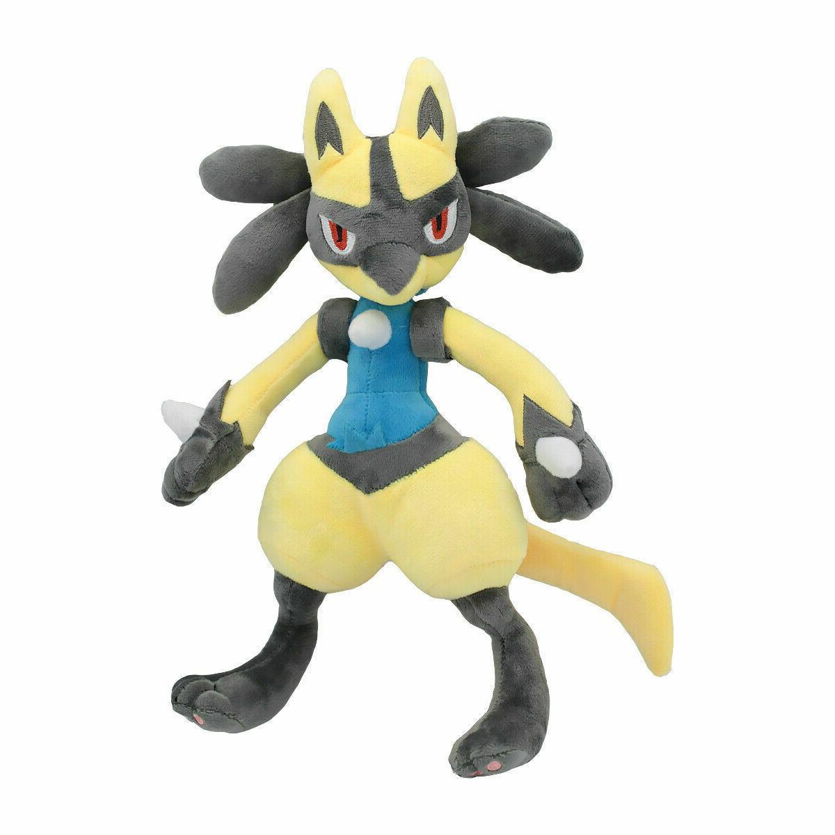 Pokemon Center Lucario Plush Doll Animals