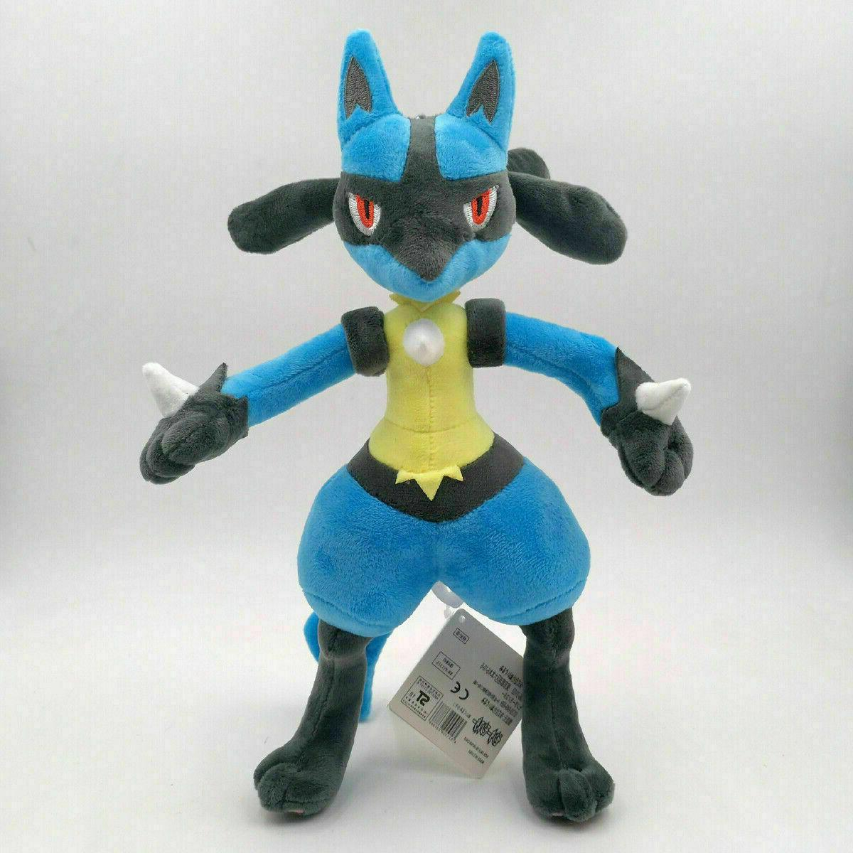 Pokemon Lucario Doll Stuffed Animals Toy Collection