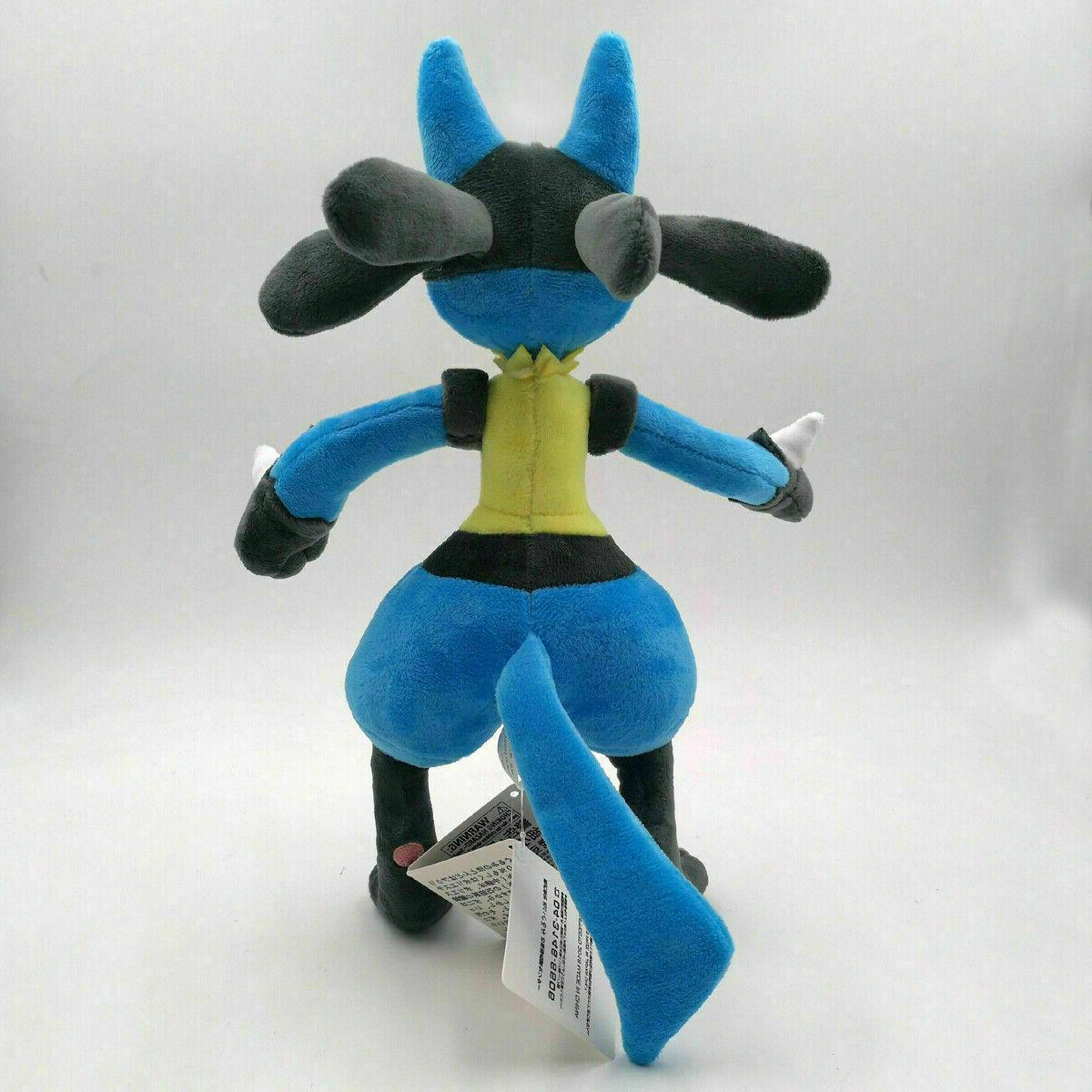 Pokemon Center Lucario Doll Stuffed Animals Toy Collection