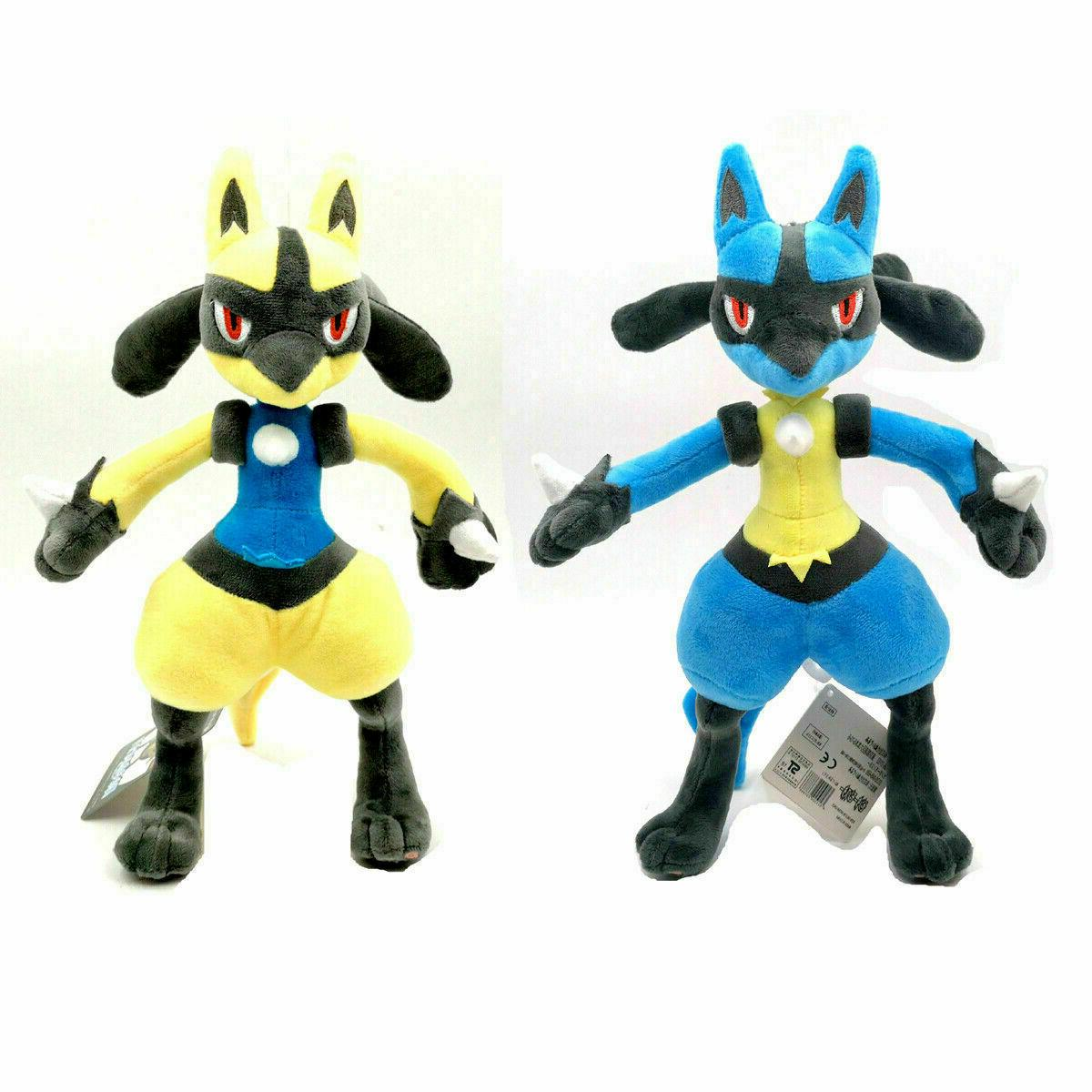 pokemon center lucario plush doll stuffed animals
