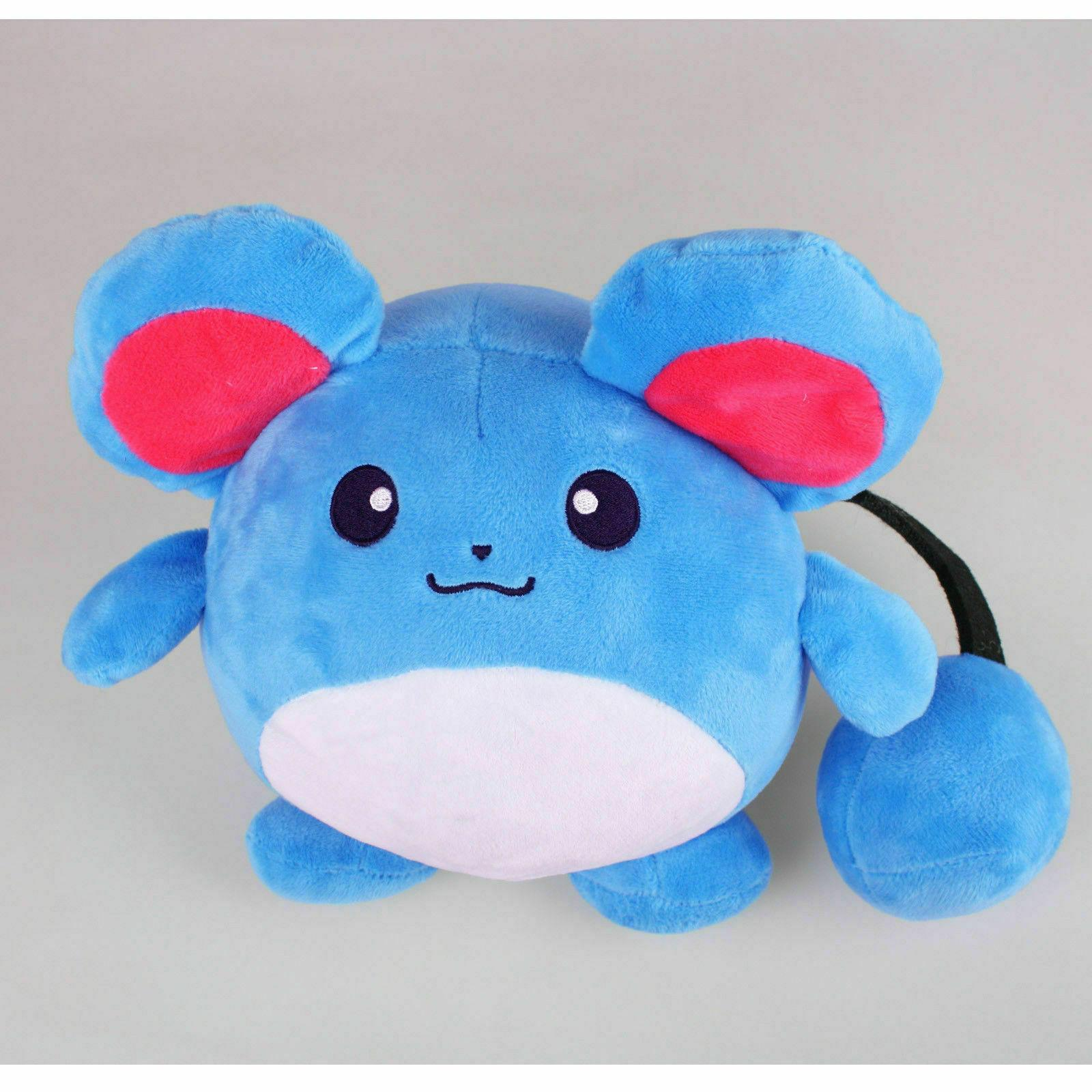 Pokemon Center Marill Plush Toy Stuffed Animals Toy Collecti