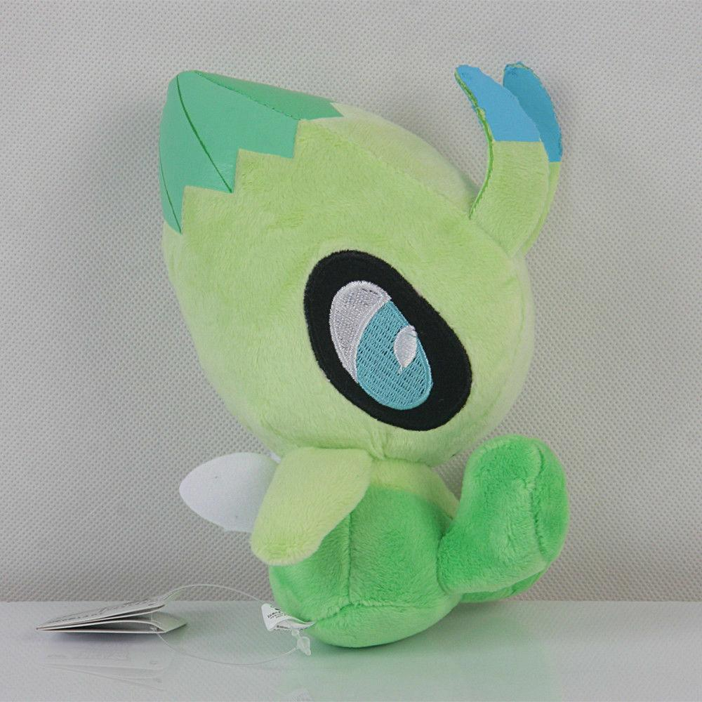 Pokemon Center Plushie Celebi Plush Doll Stuffed Animals Toy