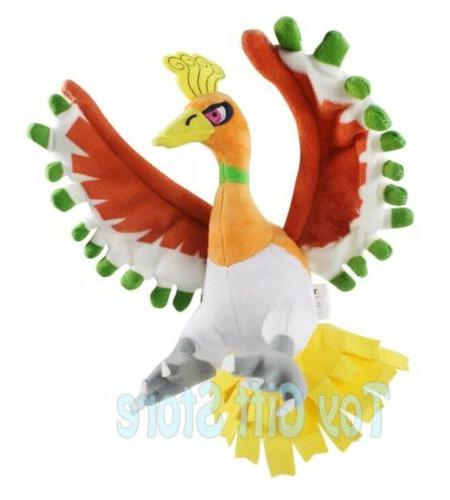 pokemon ho oh plush stuffed animal toy