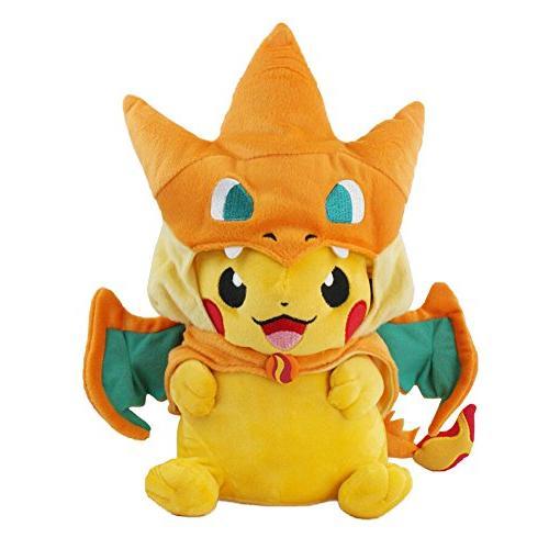 pokemon plush pikazard pikachu stuffed