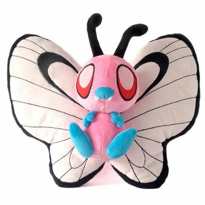 Pokemon Shiny Butterfree Plush Doll Figure Stuffed Animal To