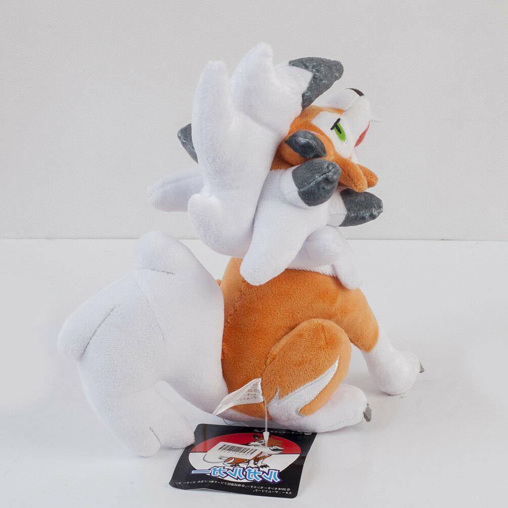 Pokemon Sun Toy Lycanroc Stuffed Animals 10inches