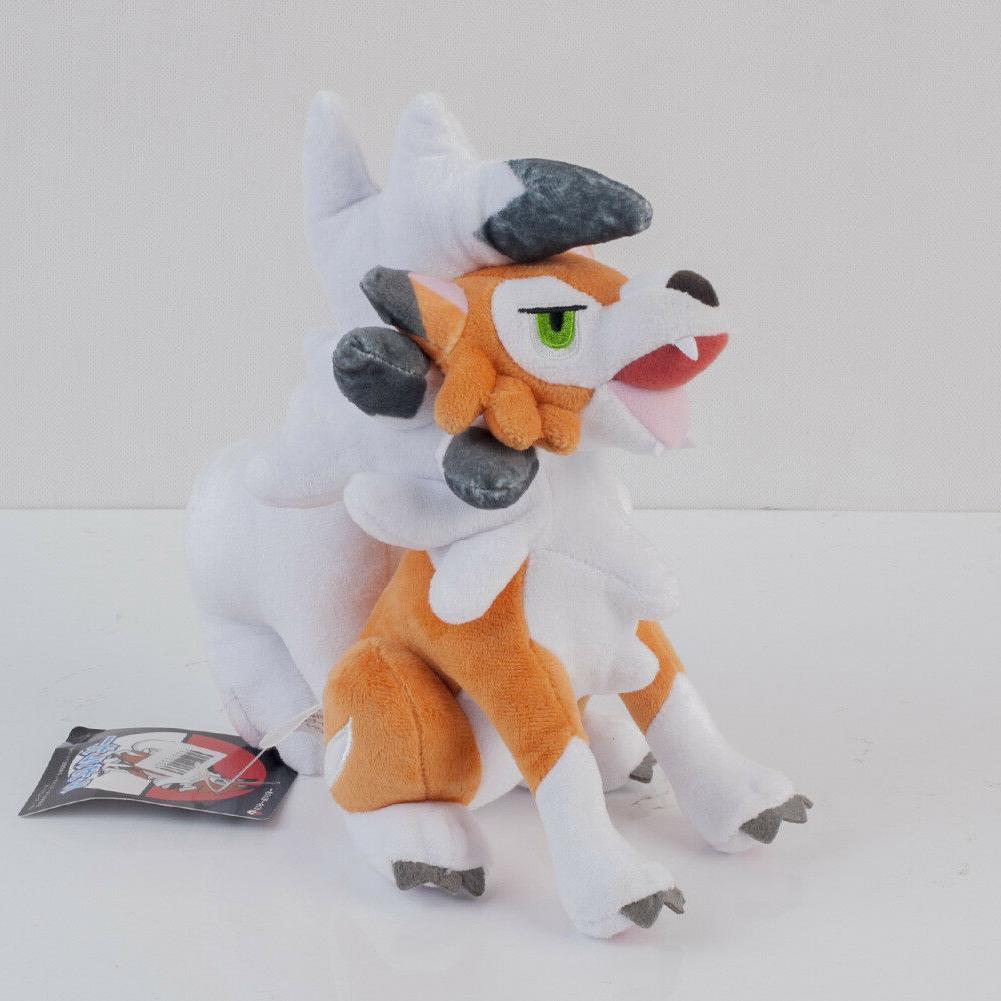Pokemon Sun Plush Toy Lycanroc Stuffed
