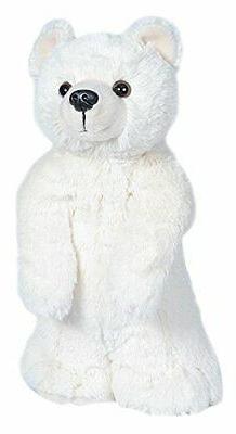 Wild Republic Polar Bear Plush, Stuffed Animal, Plush Toy, G