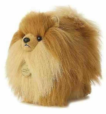 pomeranian dog plush stuffed animal