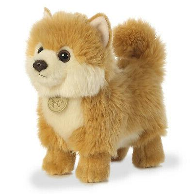 pomeranian puppy dog plush stuffed