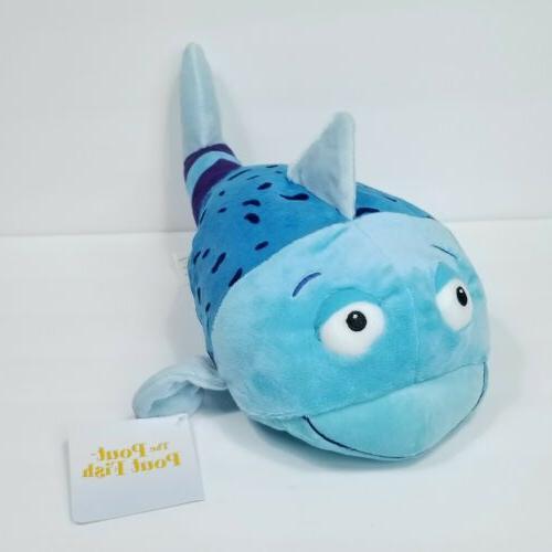pout pout the blue fish plush large