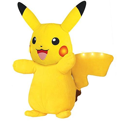 b06b95f25a9d6 Pokémon Power Action Pikachu 12 Inch Plush -