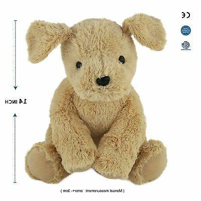 WEWILL Stuffed Super Golden Retriever Cuddly Dog,...