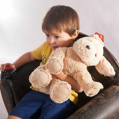 WEWILL Stuffed Animal Super Retriever Cuddly Dog,... New