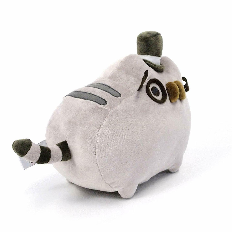 """GUND Pusheen Fancy Cat Plush Gray, 12.5"""""""