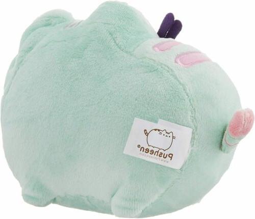 GUND Cat Plush Green Shipping