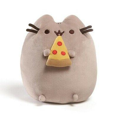 pusheen pizza snackable 9 5 stuffed toy