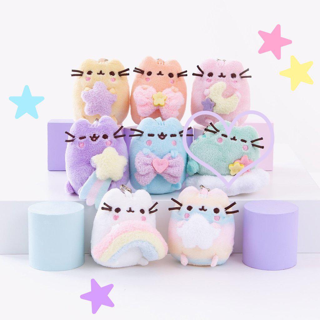 pusheen series 13 blind box plush rainbow