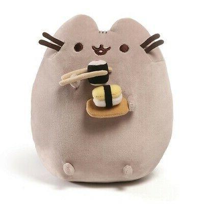 pusheen sushi snackable stuffed toy plush 9