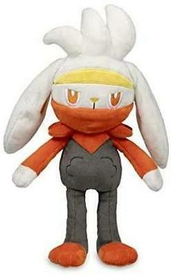 Pokemon Raboot Poke Plush - 13 in.