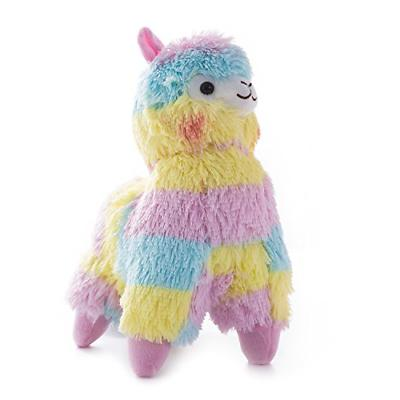 WEWILL Rainbow Alpaca Stuffed Animals Adorable Colorful Soft