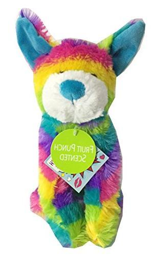 rainbow tie dye plush stuffed