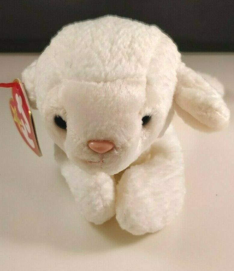 rare the beanie babies collection fleece sheep