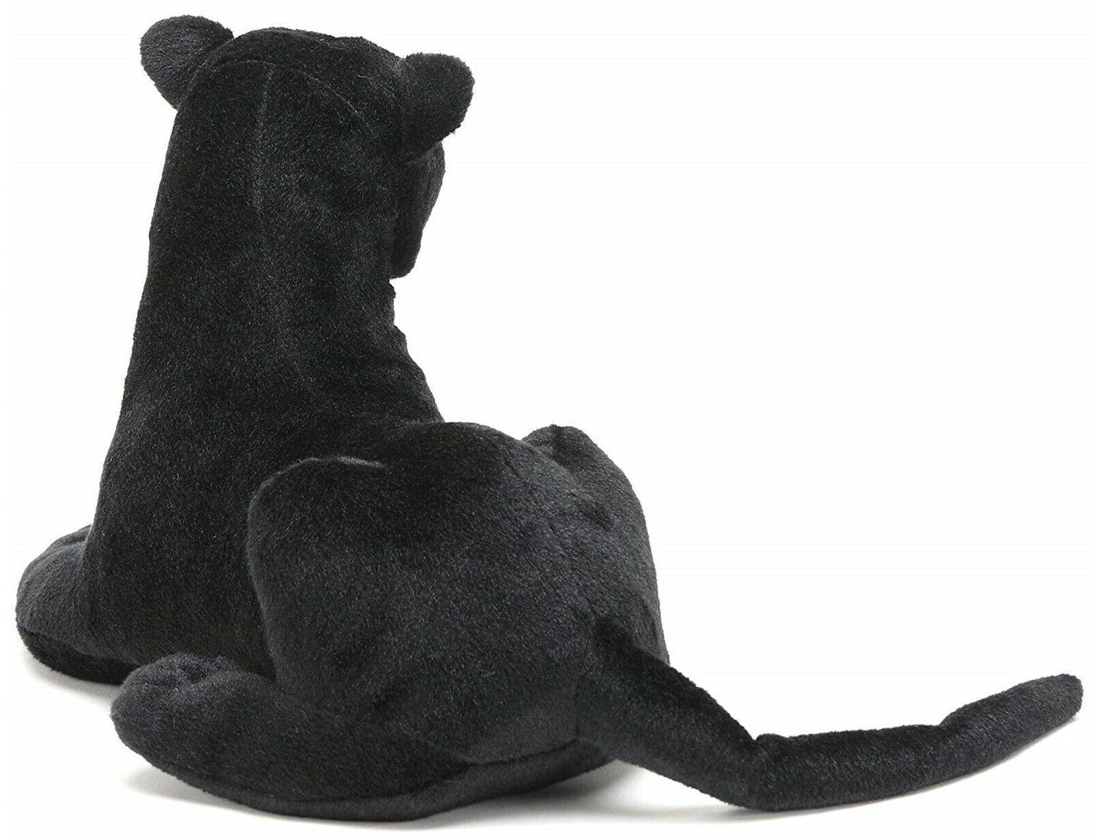 Realistic Black Panther Plush, Kids Stuffed Doll