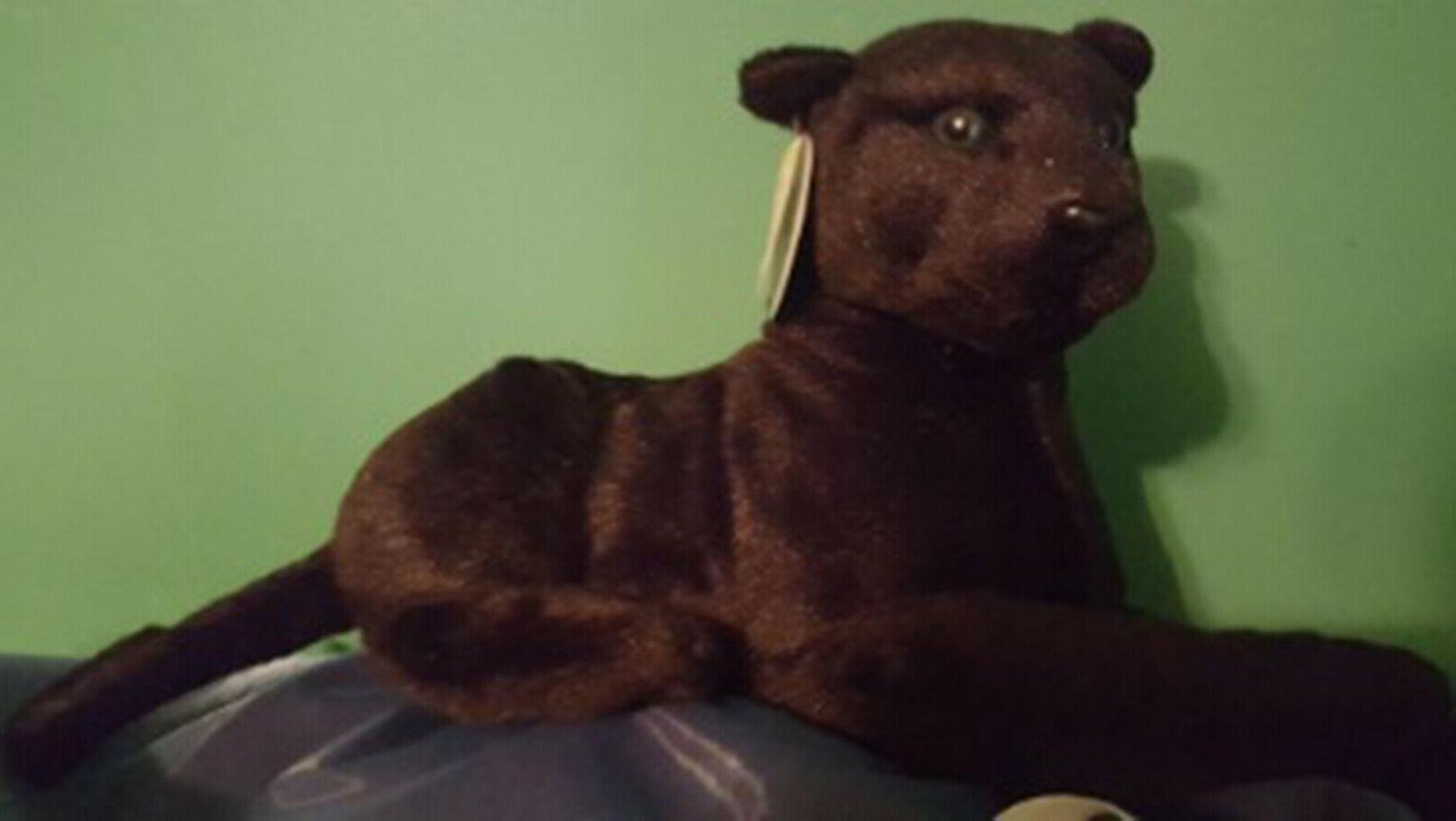 Realistic Panther Plush, Kids Stuffed Doll