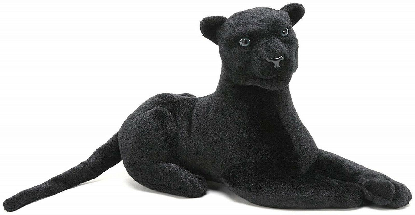 Realistic Black Panther Pet Plush, Kids Children