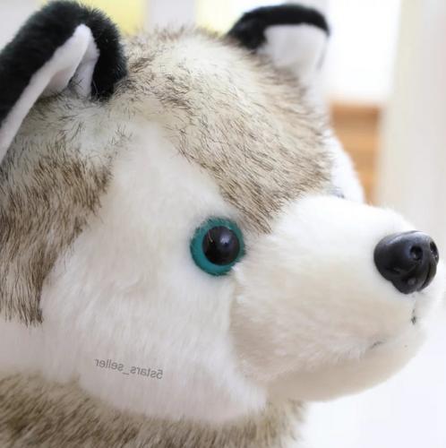 Realistic Husky Toy Animal Wolf Pet Kid
