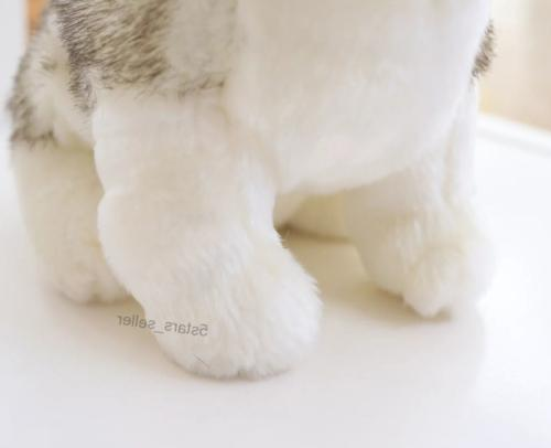 Realistic Toy Stuffed Soft Wolf Pet Kid