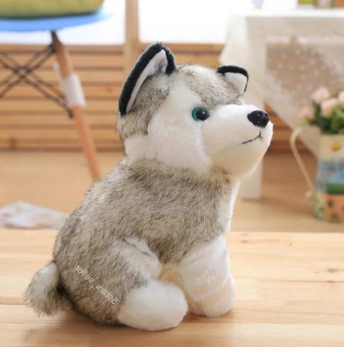Realistic Dog Wolf Pet Doll Cute Kid