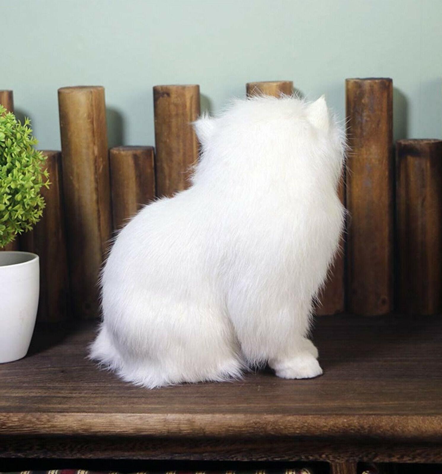 Realistic Persian Cat Pet Plush, Stuffed Animal Doll Toy Gift