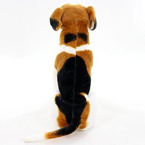 "Jesonn Stuffed Animals Sitting Dog,10"""