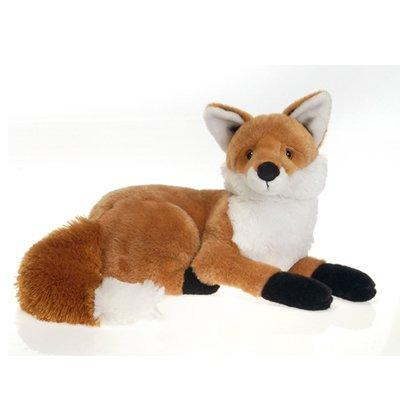 red fox laydown plush stuffed