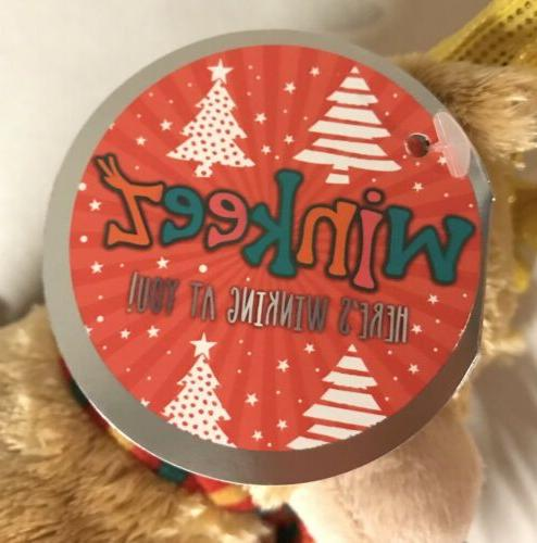 Reindeer Christmas HOLIDAY Stuffed Animal Gift New