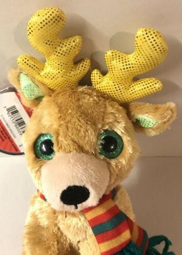 """Reindeer 6"""" HOLIDAY Deer Animal Toy Gift"""