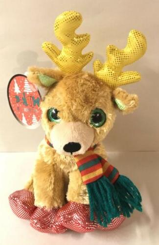reindeer christmas 6 holiday deer plush stuffed