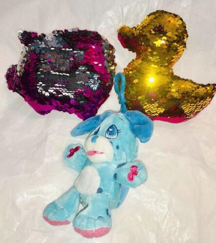 REVERSIBLE SEQUIN ANIMALS FROM TO