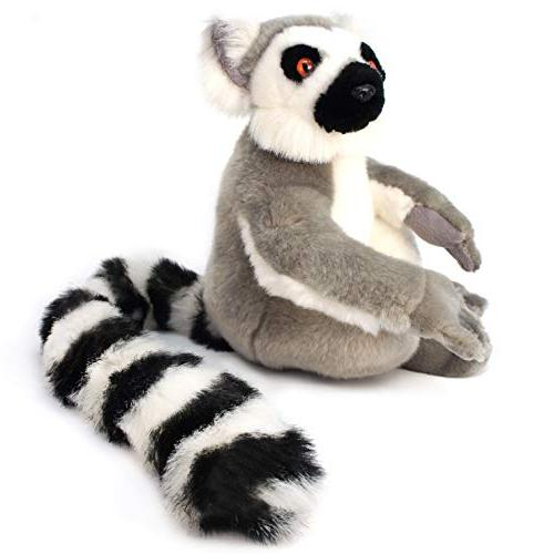 VIAHART Lemur   20 Madagascar Stuffed Plush Tiger Tale